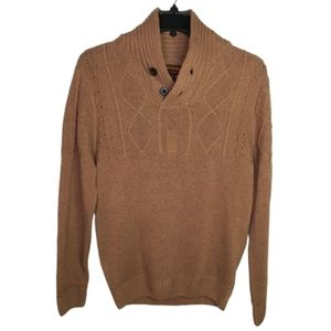 Ministry of Fashion Cable Knit Pullover Sweater